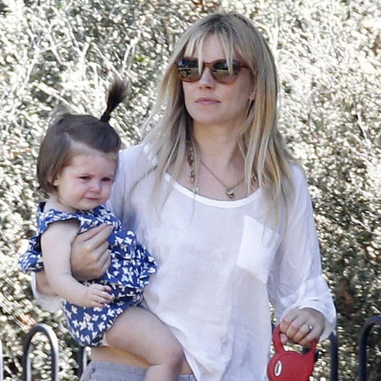 Sienna Miller and Tom Sturridge With Marlowe in London