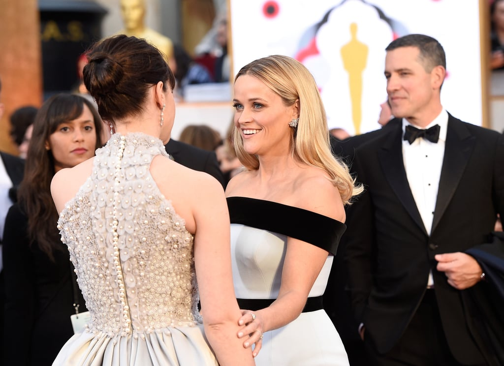 Pictures of Celebrity Arrivals on 2015 Oscars Red Carpet