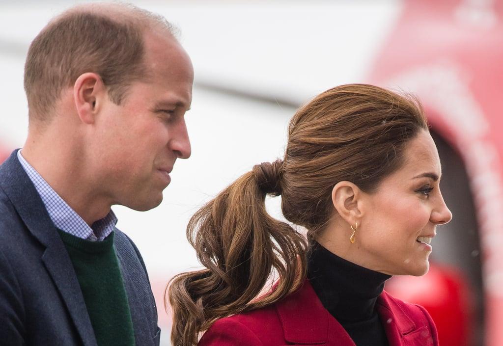 Kate Middleton's Curly Ponytail, 2019
