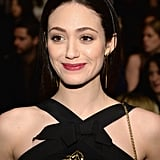 Emmy Rossum at Carolina Herrera