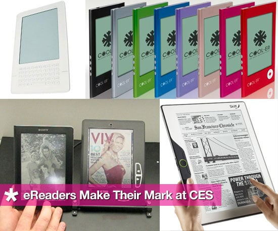 Roundup of eReaders Debuting at CES in Las Vegas