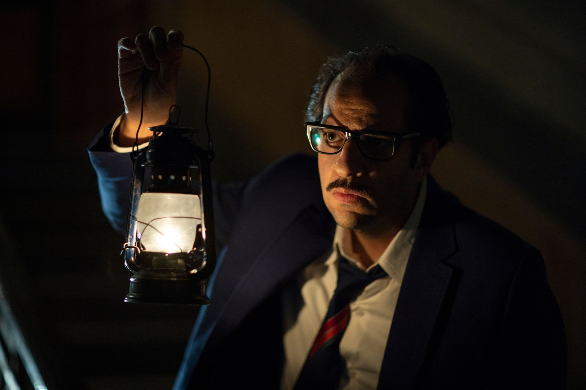 PARANORMAL, Ahmed Amin, 'The Myth of the House', (Season 1, ep. 101, aired Nov. 5, 2020). photo: Batool Al Daawi / Netflix / Courtesy: Everett Collection