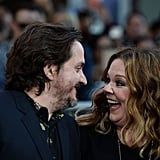 Ben and Melissa couldn't take their eyes off each other at the premiere of CHiPS in 2017.