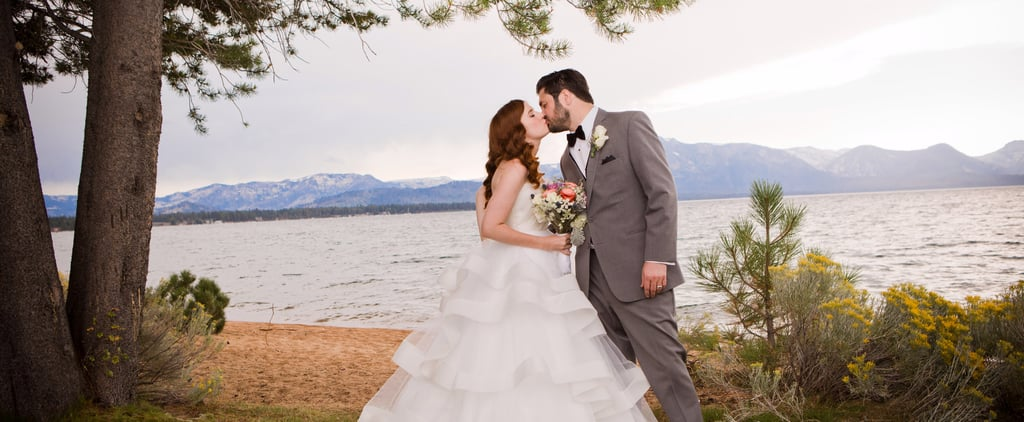"This Couple Skipped ""Tired Wedding Cliches"" For Their Beautiful Lake Tahoe Wedding"