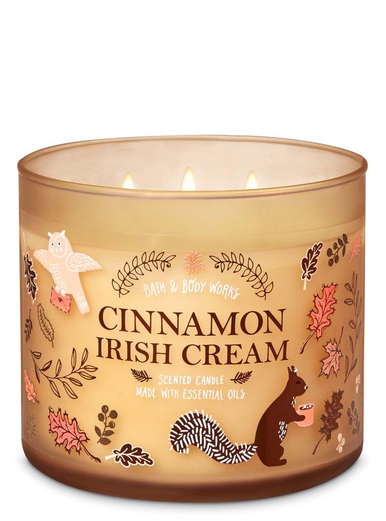 Bath and Body Works Cinnamon Irish Cream 3-Wick Candle