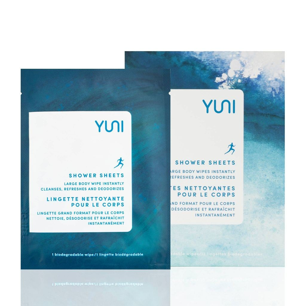 Yuni Shower Sheets | Products For Freshening Up After a Workout ...