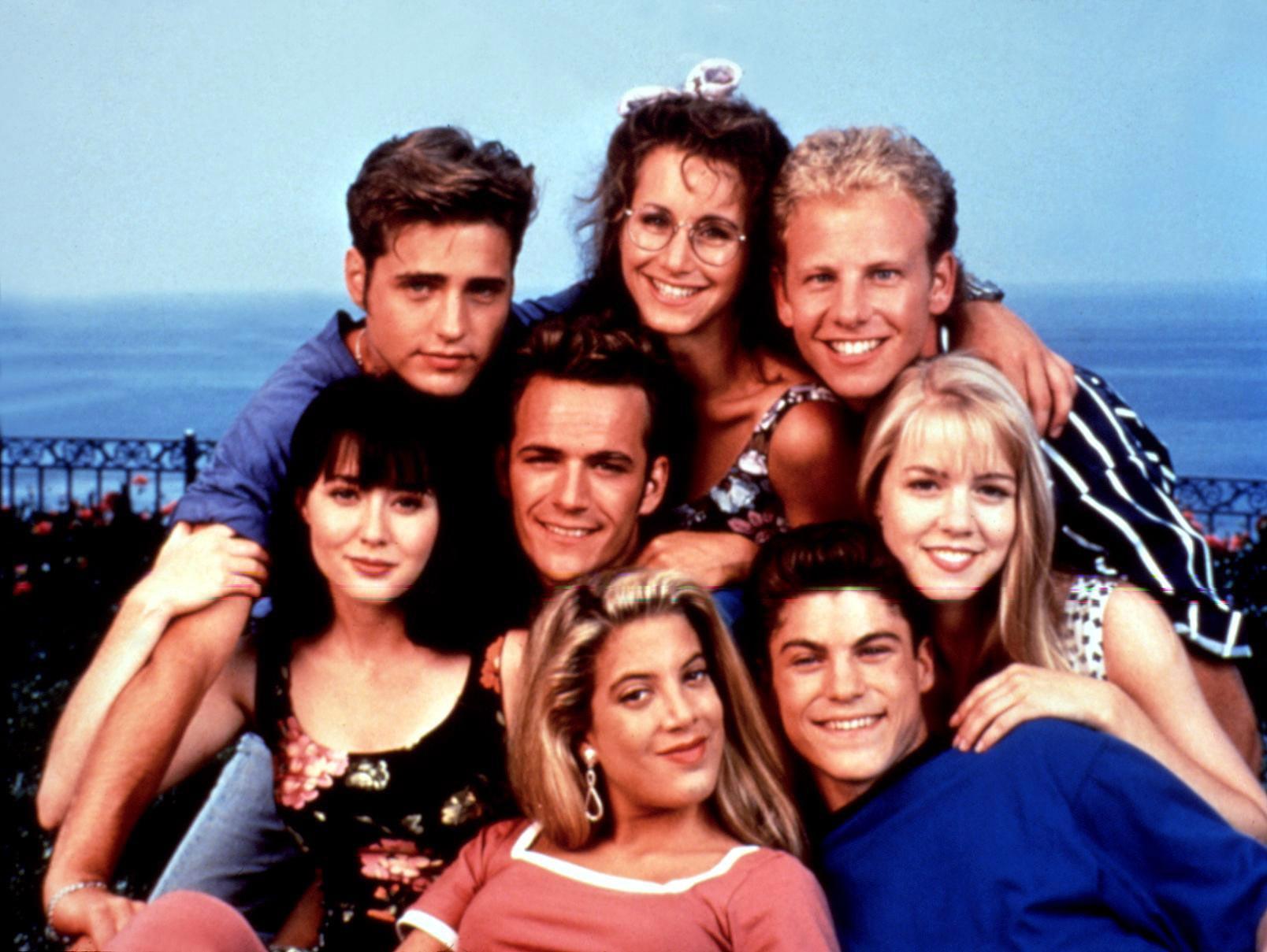 The original Beverly Hills, 90210 cast