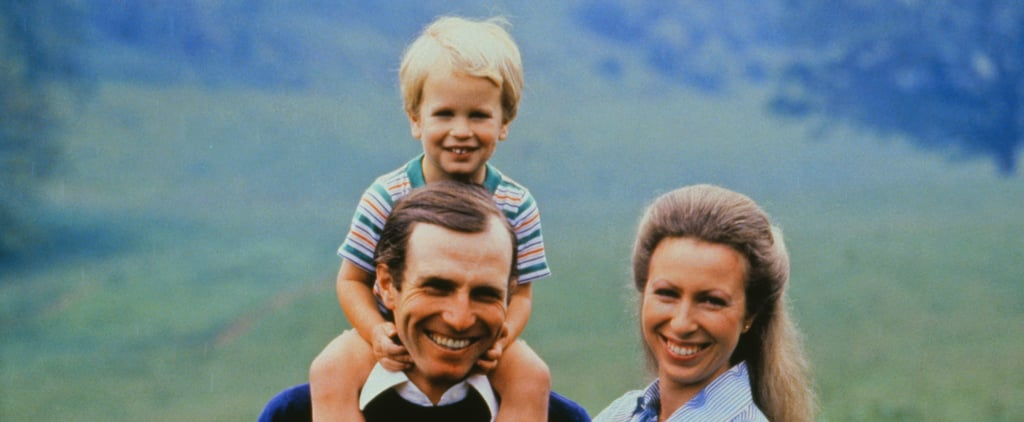 Pictures of Princess Anne With Her Family