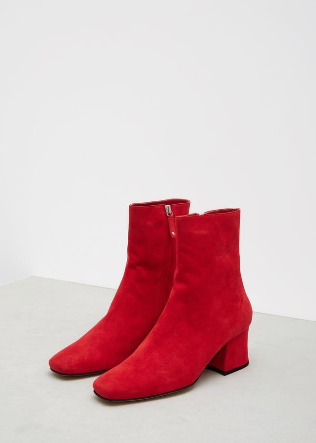 Dorateymur Red Sybil Leek Boot