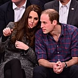 """Kate: """"You're buying me popcorn at halftime. And a pint."""""""