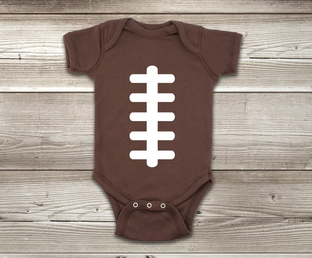 Football Ball Onesie