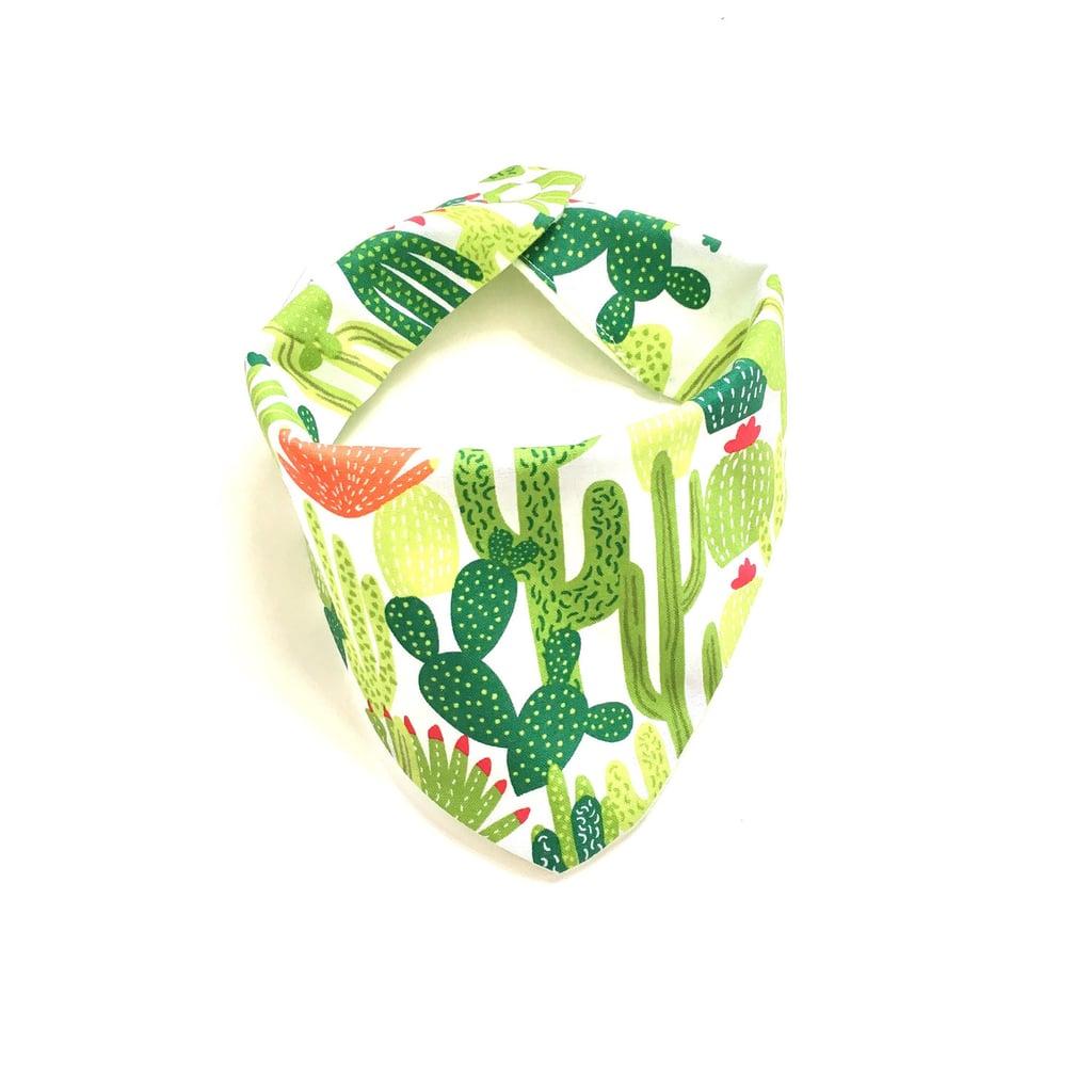 Flowering Cactus Baby Burpee Bandana