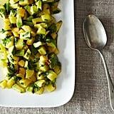 Plum and Avocado Savory Fruit Salad