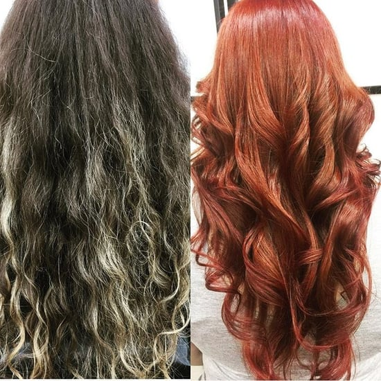 Hair Color Corrections Before and After