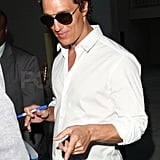 Matthew McConaughey Spends St. Patrick's Day With Another Handsome Man