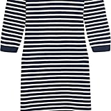 Liv Striped Wool-Blend Midi Dress ($160)