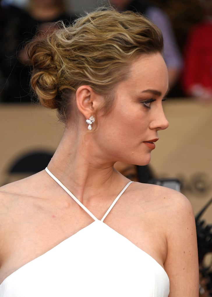 Brie Larson Hair And Makeup At Sag Awards 2017 Red