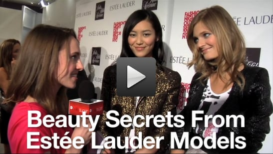 Sugar Shout Out: Great Beauty Tips From Estee Lauder Models!