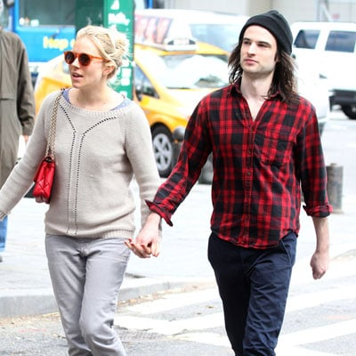 Sienna Miller With Mom Jo and Fiance Tom Sturridge in NYC