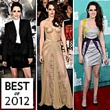 Kristen Stewart was voted your red-carpet queen of 2012.
