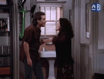 When Elaine Tells Jerry to GET OUT