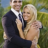 Ali Fedotowsky and Roberto Martinez: Then