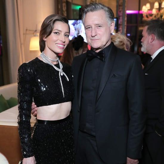 Jessica Biel's Golden Globes Afterparty Dress 2018