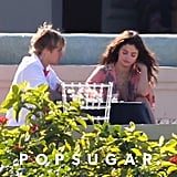 Selena Gomez and Justin Bieber in Jamaica February 2018