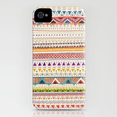 Pattern iPhone 4/4S case ($35)