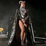 She Also Wore This Embellished Cape During Coachella