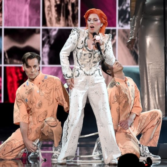 "Lady Gaga Performing David Bowie's ""Fashion"" 