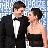 Ashton Kutcher and Mila Kunis at Breakthrough Prize Ceremony