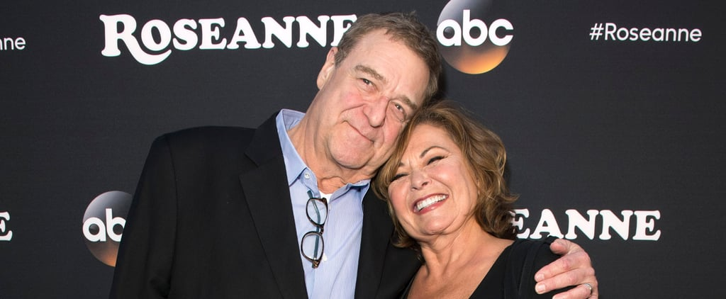 Roseanne Barr and John Goodman Friendship Pictures