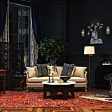 Shakespeare in Love-Inspired Eclectic-Style Living Room