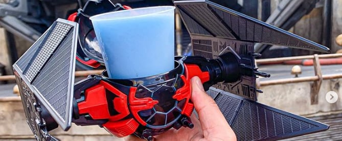 Disneyland's Kylo Ren TIE Fighter Drink Holder Is So Epic