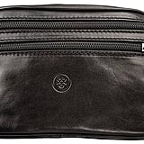 Maxwell Scott Bags Quality Leather Black Bum Bag Centolla