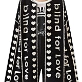Gucci Blind For Love Jacquard Sweater Coat