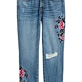 Matching ripped details with girlie flowers make the H&M Vintage High Jeans ($30) both a Spring and Summer essential.