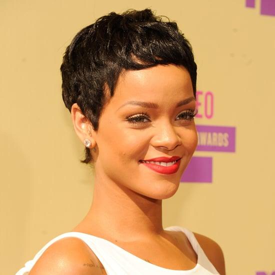 Rihannas New Haircut At The 2012 MTV VMAs