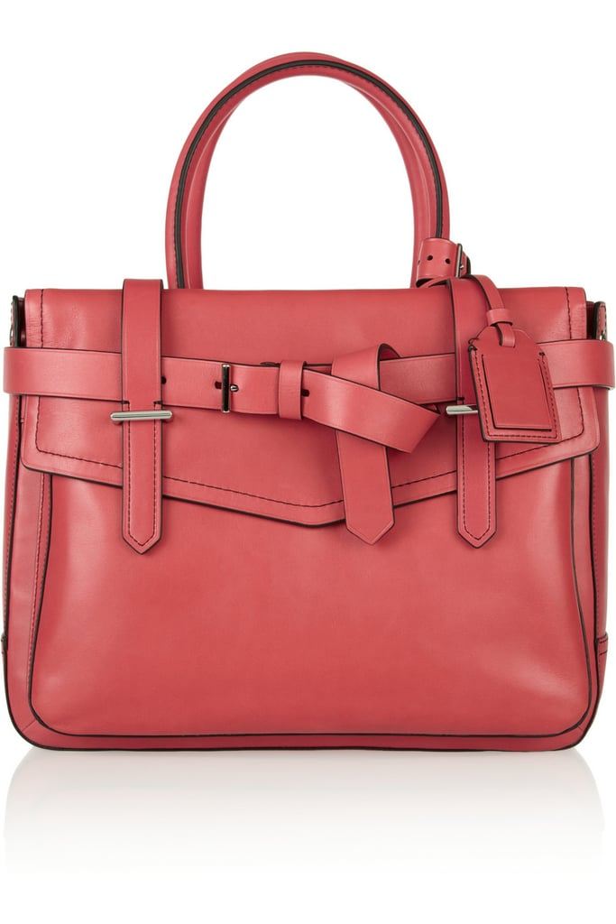 Treat yourself to a professional, office-ready satchel like Reed Krakoff's boxy style ($763, originally $1,090).