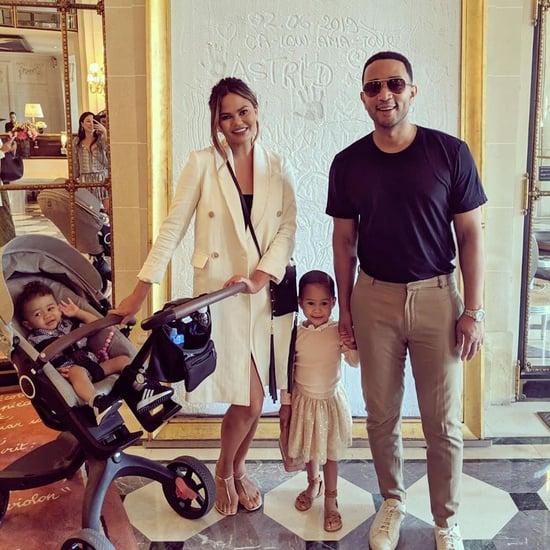 Chrissy Teigen John Legend Family Vacation in Europe 2019