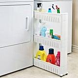 Narrow Sliding Storage Organiser Rack
