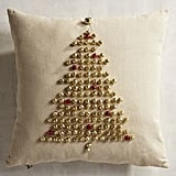 Jingle Bell Christmas Tree Pillow ($30)