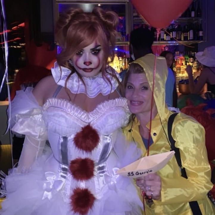 Demi Lovatos Pennywise Halloween Costume Popsugar Celebrity
