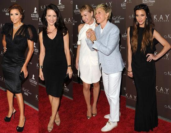 Pictures of Eva, Ashley, Ellen and Portia at Neil Lane event