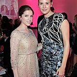 Maggie Grace and Anna Kendrick hung out at the Vanity Fair and Juicy Couture bash held in association with Shailene Woodley's All It Takes charity.