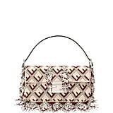 Fendi Baguette FF Beaded Shoulder Bag