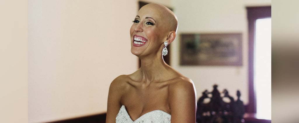 This Bride Proves Bald Is Beautiful in Her Wig-Free Wedding Photos