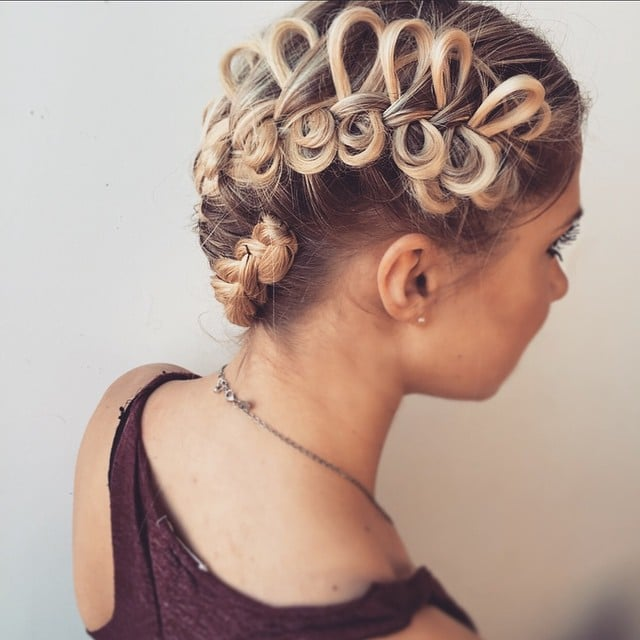 braided updo easy braided hairstyles instagram. Black Bedroom Furniture Sets. Home Design Ideas