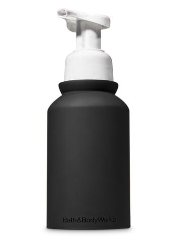 Matte Black and Marble Gentle Foaming Soap Dispenser